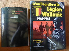 Léon Degrelle et la légion Wallonie 1941-1945 WALLONS SS WAFFEN Heimdal FRANÇAIS