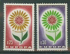 Frankreich  Briefmarken 1964 Europa Mi.Nr.1490+91 ** postfrisch