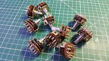 10 X  ALPHA ROTARY SWITCH 3 POLE 4 POSITION ROTARY SWITCH , 6mm x 8mm
