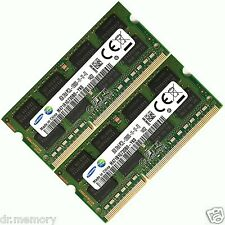16GB (2x8GB) DDR3 1600 Mhz PC3 12800 12800s Laptop SODIMM Memory RAM 204 Pin