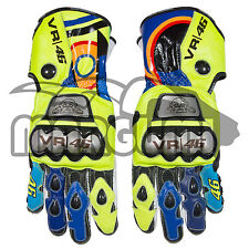 Valentino Rossi D1 Race Replica Full Metal Pro Gloves 2017 (Motorcycle Gloves)