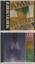 AMII STEWART  BEST OF REST OF IMPORT 2 CD's 1991 10 track KNOCK ON WOOD jealousy