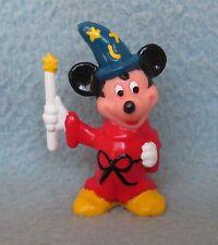 "MICKEY MOUSE WIZARD 2.25"" PVC FIGURE, Disney, Hong Kong, Cake Topper"