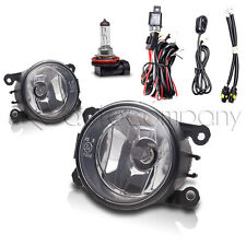 2008-2012 Ford Focus Fog Lights Front Driving Lamps w/Wiring Kit - Clear