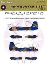 Bestfong Decals 1/144 NORTHROP GRUMMAN S-2E/T TRACKER Chinese Air Force