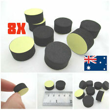 8pcs Audio Isolation Feet Round Soft Foam Adhesive Pad HIFI Speaker AMP 20 X10mm