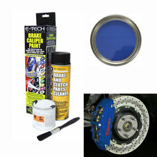 E-Tech Blue Brake Caliper Paint Kit -Engine Bay Brakes Manifold Drum Metal Car