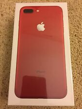 NEW Apple iPhone 7 Plus (PRODUCT) RED Special Edition 256GB Unlocked *SEALED*