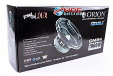 "Orion Cobalt CM84 8"" Midrange Speaker with Grills Sold by the Pair! 1000W MAX"