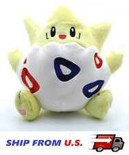 8'' Pokemon Togepi Spike Ball Cute Plush Toy Stuffed Doll FAST SHIPPING FROM U.S