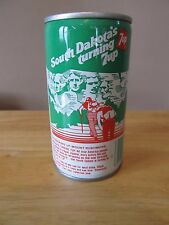 Vintage Steel 7UP Can~South Dakota's Turning 7UP~Empty~1979~Very Good Condition!