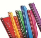 SIX COLOURED CELLOPHANE FILM ROLLS - 508mm x 4.5m