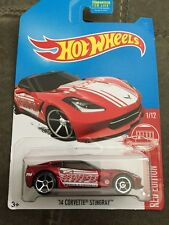 2017 Hot Wheels RED EDITION 1/12 '14 Corvette Stingray (Target Exclusive) ~ VHTF
