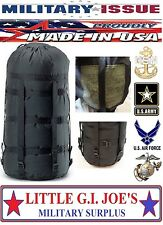 BRAND NEW Military Issue Compression Stuff Sack 9 Strap for Sleeping Bags MSS