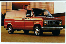 Postcard 1983 Ford Econoline, Fred Martin Ford, Youngstown, Ohio 3-1/2X5-1/2 in