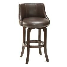 Hillsdale Furnituren Napa Valley Swivel Bar Stool - Brown Leather- 4294-831I NEW