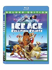 ICE AGE : COLLISION COURSE (3-D + 2D) + DVD - BLU RAY - Region A/1 - Sealed