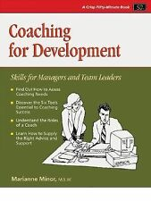 Crisp: Coaching for Development: Skills for Managers and Team Leaders -ExLibrary
