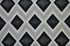 Geometric Ponte Print #29 Double Knit Fabric Stretch Poly Lycra Spandex BTY