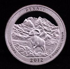 2012 S Parks Quarter Denali Alaska Proof DCAM Uncirculated CN-Clad