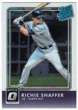 2016 Donruss Optic Chrome Rated Rookies RC #45 Richie Shaffer Rays