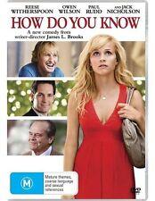 How Do You Know? (DVD, 2011)