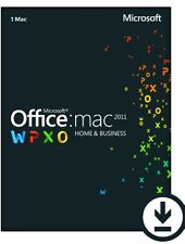 Office for Mac Home and Business 2011 - Licenza originale