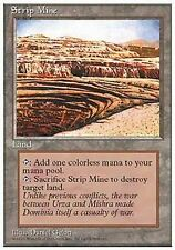 *MRM* FR Strip Mine / Mine des Morts-Terrains MTG 4th edition