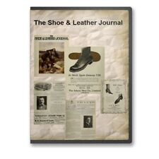 The Shoe & Leather Journal 1910 - 1923 Historic Collection on DVD - A745