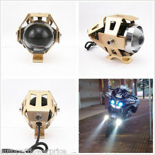 Waterproof CREE U5 Golden 125W LED Driving Laser Spot Light Headlight For Ridley