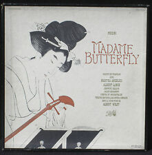 Puccini Madame Butterfly Albert Wolff Angelici Lance...DTX 225-7  3 x LP & BX EX