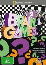National Geographic: Brain Games 2 DVD NEW