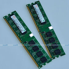 Hynix 2GO 2x1GB PC2-4200 DDR2 533 533MHZ 240PIN 2GB DIMM Desktop MEMORY RAM NEW
