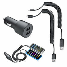 Genuine Nokia Car Charger for Sony HTC LG Motorola LG Dual USB High Output 2.1A