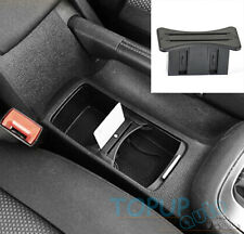 FIT For 08-12 VW MK6 Golf GTI R20 Car Cup Card Holder  Slot Centre Console Box
