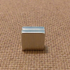 2 Neodymium 1/4 x 1/4 x 1/16 inches Block/Bar Magnet.