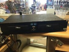 GEMINI CD240 DUAL CD PLAYER, RACK MOUNT