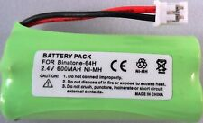 BINATONE  VEVA 1200 1210 BYD H-AAA COMPATIBLE BATTERY 2.4V Ni-MH 64H