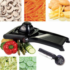 Professional Plastic Mandolin Food Slicer Vegetable Grater Shredder Cutting New