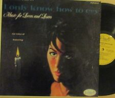ALICE DARR/MUNDELL LOWE LP '62 CHARLIE PARKER I ONLY KNOW HOW TO CRY JAZZ VOCALS