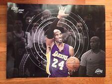 """LA LAKERS SGA Kobe Bryant Career Milestone Passes Jordan POSTER 18""""x 24"""""""