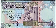 **   LIBYE     1/2  dinar   2002   P-63    UNC   **