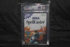 SpellCaster (Sega Master System, 1989) NEW SEALED VGA 90 GOLD, MINT CASE FRESH