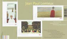 Jean Paul Lemieux #2068 2004   MNH Souvenir Sheet Canada