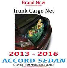 Genuine OEM Honda Accord 4Dr Sedan Cargo Net 2013 - 2016