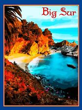 Big Sur Central California Coast United States Travel Advertisement Art Poster