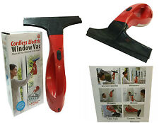 CORDLESS ELECTRIC WINDOW VAC HAND HELD WINDOW VACUUM CLEANER FAST AND EFFECTIVE