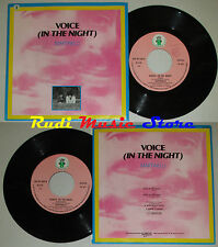 LP 45 7'' MARTINELLI Voice in the night italy DISCOTTO ART NP 1024 cd mc dvd