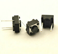 (20)Tactile Switch 6 x 6 x 4.3mm PCB Non-Lock Tact Push Button Switch 2 Pins