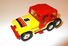 "Jeep CJ-5 cj5 Renegade ""8"" gelb yellow Hardtop hard top rot red, Corgi in 1:36!"